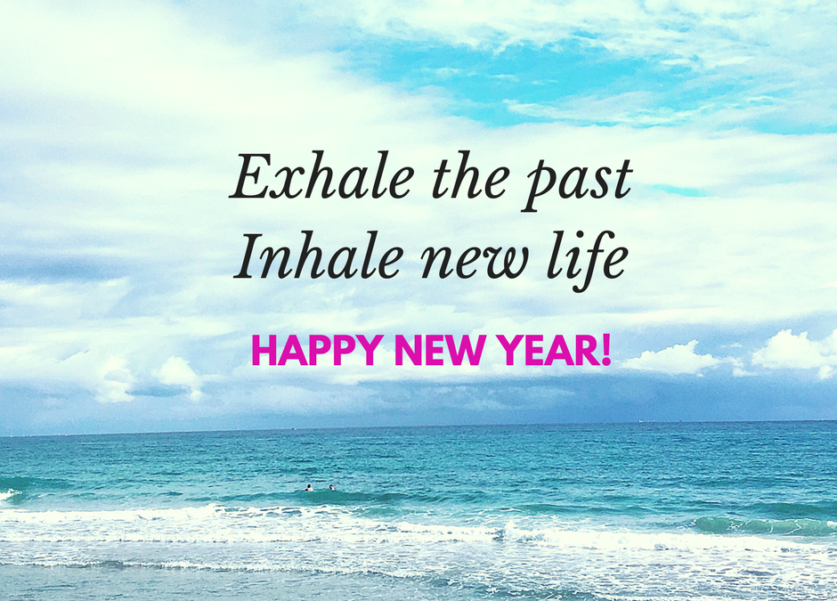 Exhale the Past and Inhale New Life