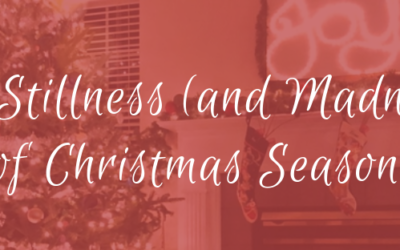 The Stillness (and Madness) of Christmas Season