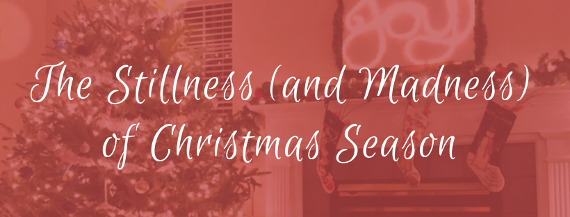 The Stillness (and Madness) of Christmas Season