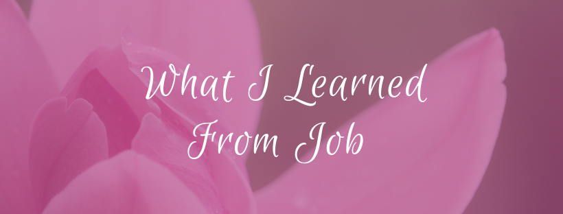What I Learned From Job