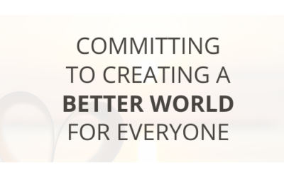 Committing to Creating a Better World for Everyone
